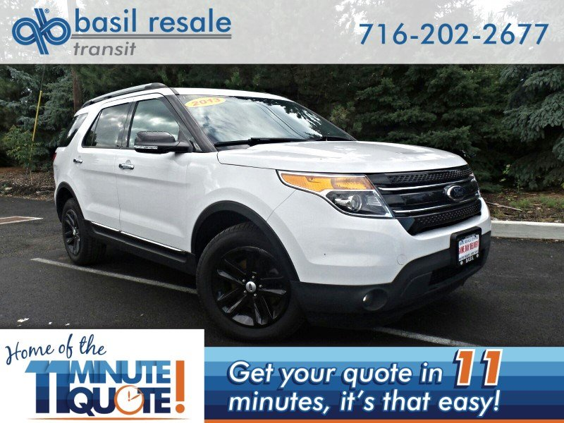 2013 Ford Explorer Xlt >> Pre Owned 2013 Ford Explorer Xlt 4wd