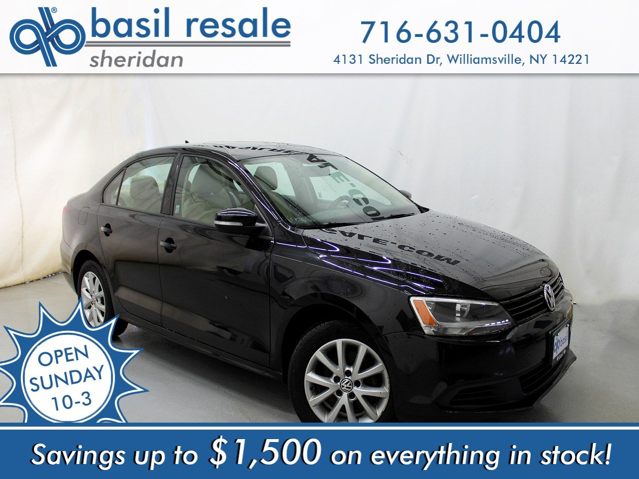 Pre-Owned 2011 Volkswagen Jetta Sedan SE w/Convenience & Sunroof PZEV