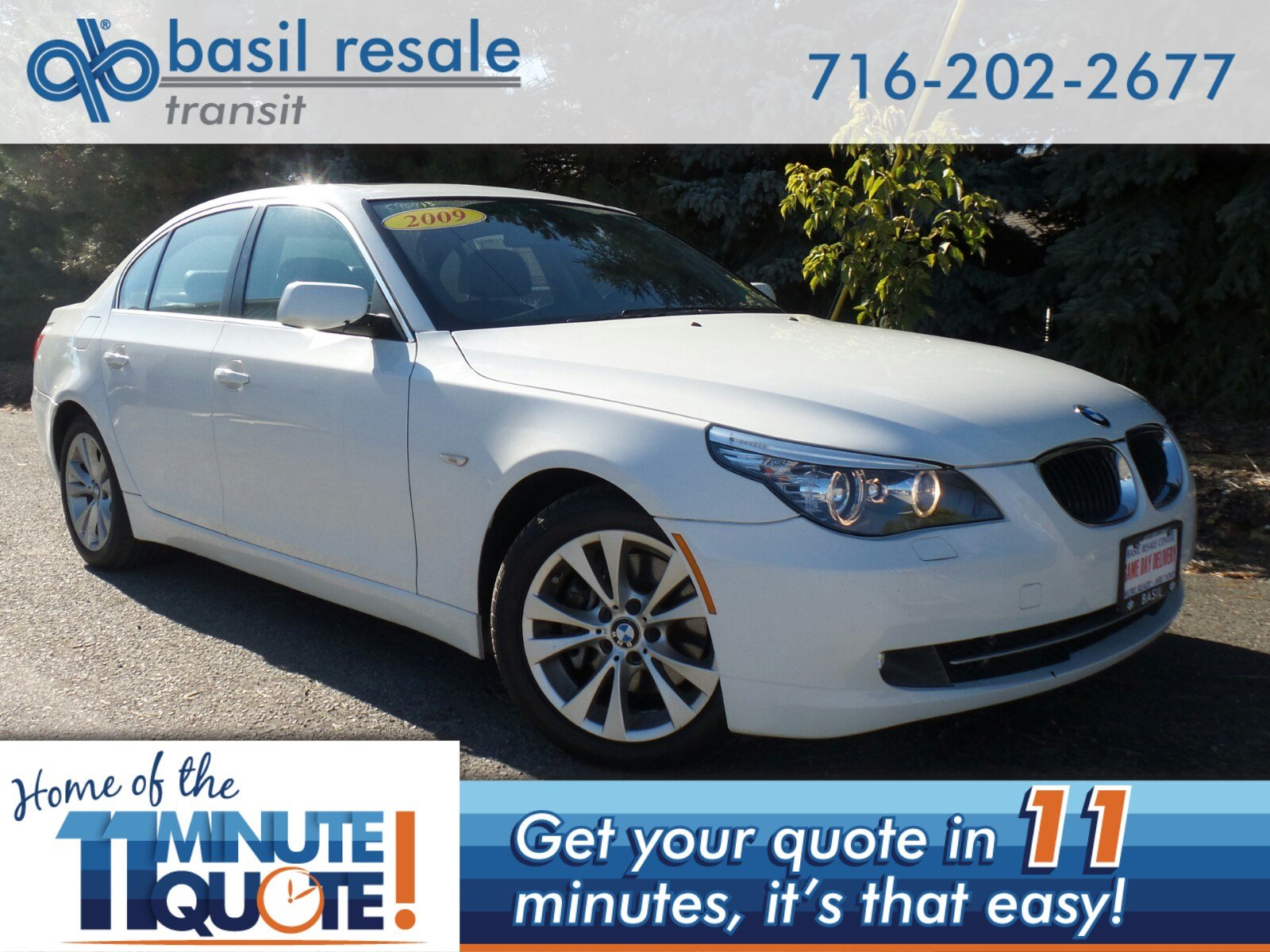 Pre Owned 2009 Bmw 5 Series 535i Xdrive