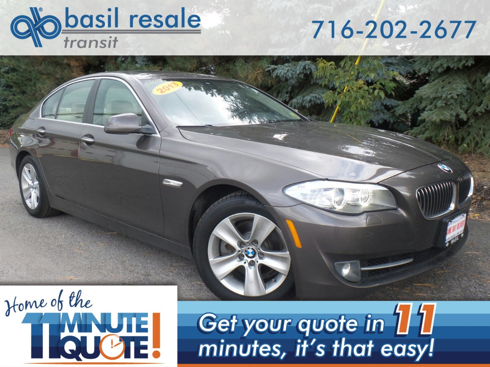 Pre Owned 2013 Bmw 5 Series 528i Xdrive 4dr Car In Williamsville