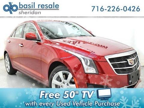 Pre-Owned 2016 Cadillac ATS Sedan Standard AWD