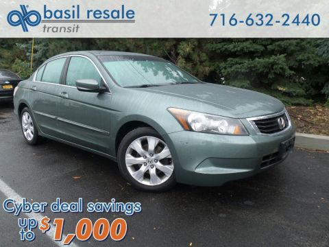 Pre-Owned 2008 Honda Accord Sdn EX-L